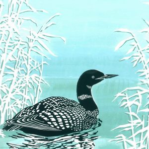 Black-throated Diver Christmas Cards