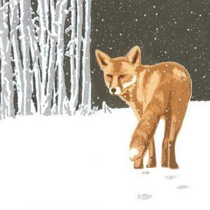 Heading Home (Dark) - Christmas Card