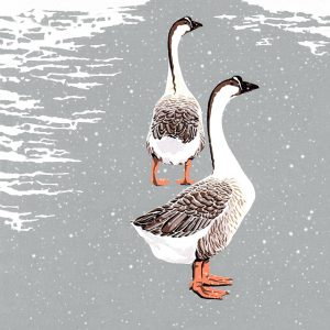 Chinese Geese Christmas Cards
