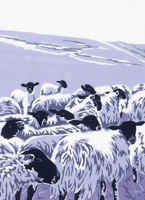 Flocks by Night Christmas Cards - 80x112mm