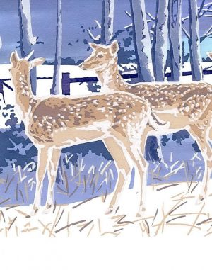 First Winter - Deer Christmas Cards - 80x112mm