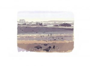 Early Pickings - Studio Print