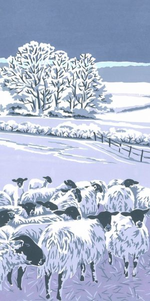 Flocks by Night - Fine Art Poster