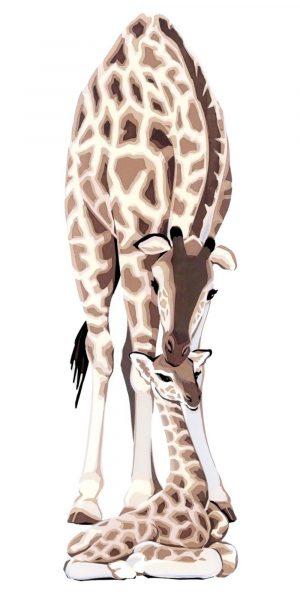 Giraffes - Fine Art Poster