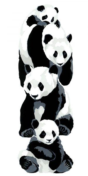 Pandas - Fine Art Poster