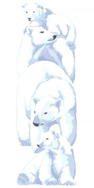 Polar Bears - Fine Art Poster