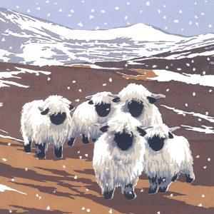 Snowy Valais - Christmas Cards